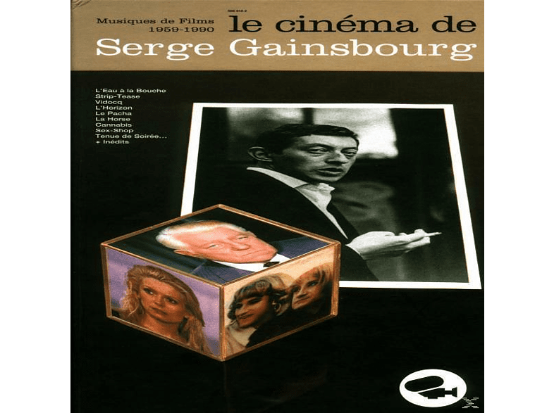 Serge Gainsbourg - Le Cinema De Serge Gainsbourg [CD]