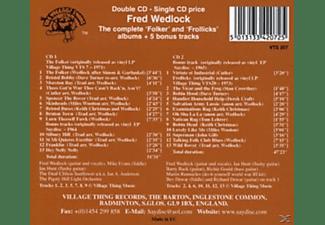 FRED WEDLOCK, EVANS, HUNT, ... - The Complete Folker & Frollicks A  - (CD)