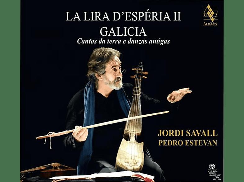 PEDRO ESTEVAN / JORDI SAVALL - La Lira D'Esperia II Galicia [SACD Hybrid]