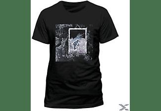 Iv Album (T-Shirt, Schwarz, Größe L)