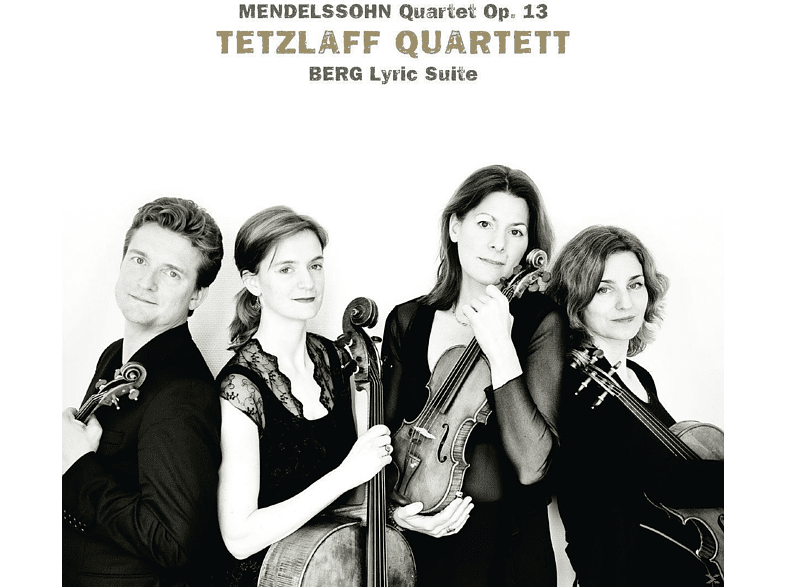 Tetzlaff Quartett - Mendelssohn: Quartett Op. 13 / Berg: Lyrische Suite [CD]