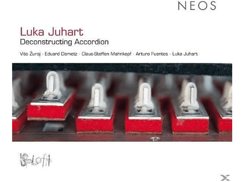 Luka Juhart - Deconstructing Accordion [CD]