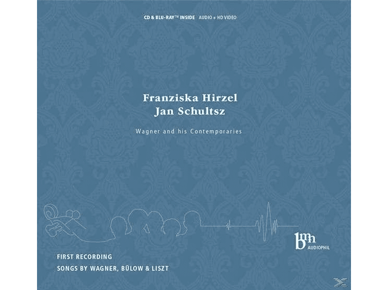 Franziska Hirzel, Jan Schultsz - Wagner And His Contemporaries [CD + Blu-ray Disc]