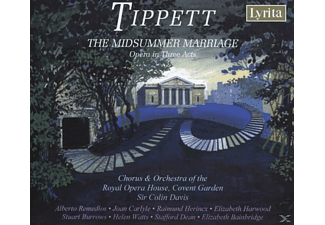 CHORUS & ORCH. OF ROYAL OPERA HOUSE - The Midsummer Marriage-Opera in - (CD)