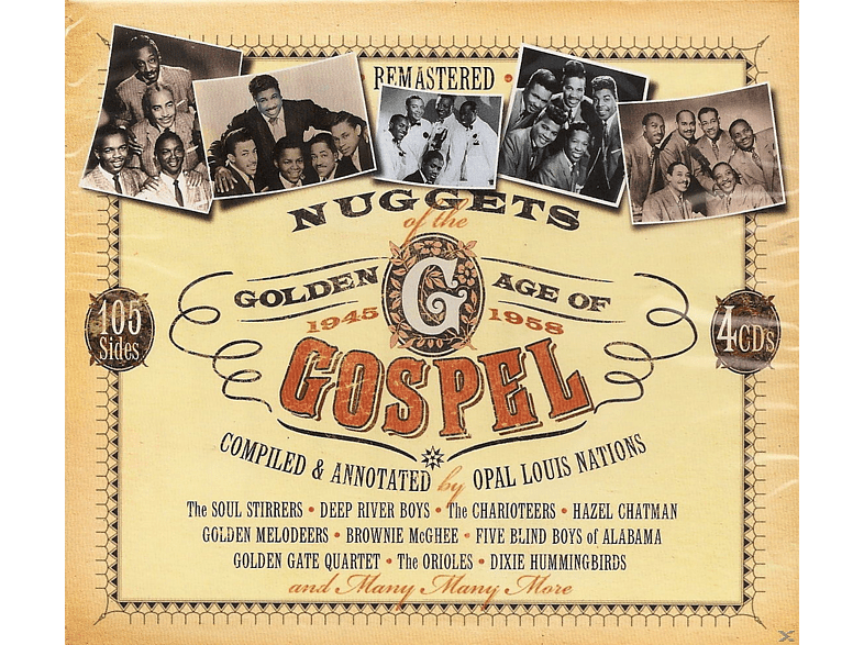VARIOUS - Nuggets Of Gospel - Golden Age [CD]