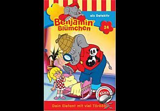 Benjamin Blümchen - Benjamin Blümchen Folge 24: Als Detektiv  - (MC)