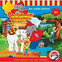 Benjamin Blümchen - Folge 082: Der Weisse Elefant - (CD)