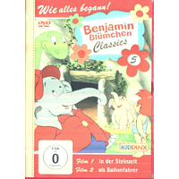 Benjamin Blümchen: ... als Ballonfahrer / ... in der Steinzeit (Classics Folge 5) [DVD]