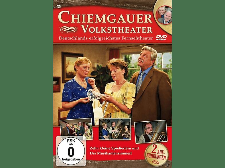 Chiemgauer Volkstheater - Zehn Kleine Spießerlein/Der Musikantensimmerl [DVD]