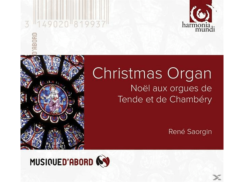 Rene Saorgin (org) - Christmas Organ [CD]