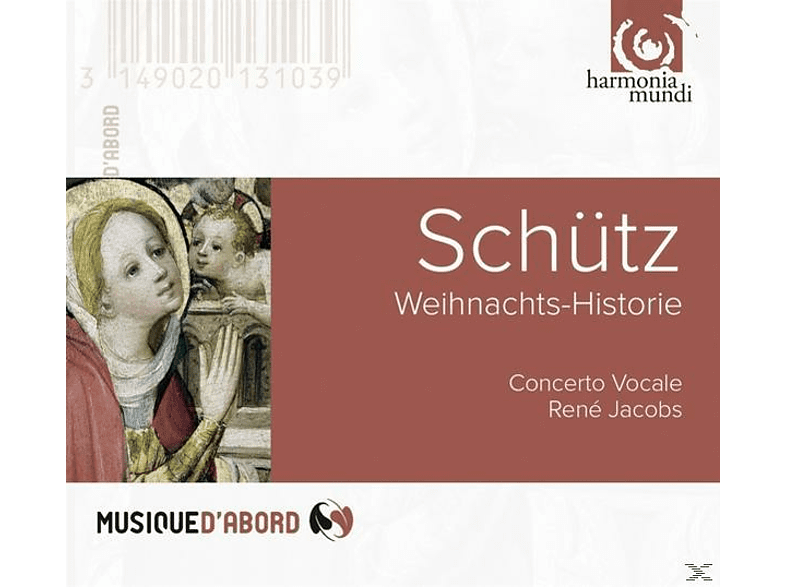 Rene Concerto Vocale & Jacobs - Weihnachts-Historie [CD]