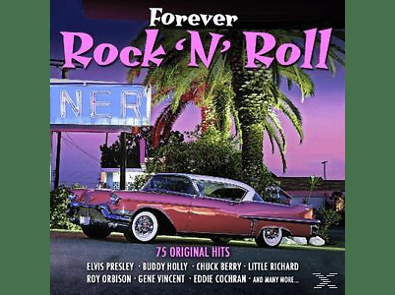 VARIOUS - Forever Rock 'n' Roll Hits-75 Original Hits [CD]