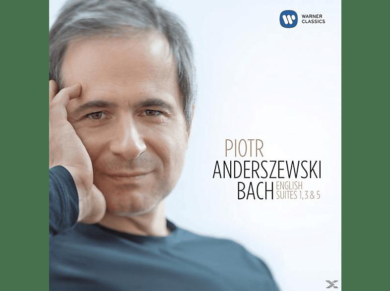 Piotr Anderszewski - Bach:Englische Suiten 1, 3 & 5 [CD]