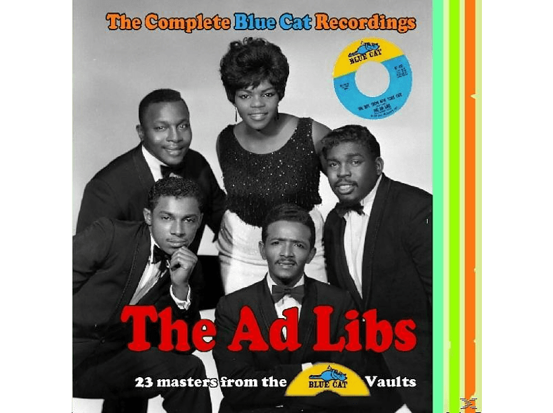 The Ad Libs - Complete Blue Cat Recordings [CD]