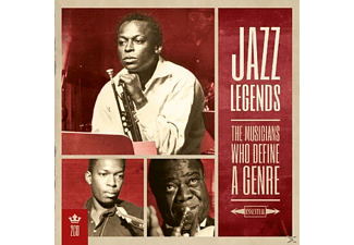 VARIOUS - Jazz Legends - (CD)