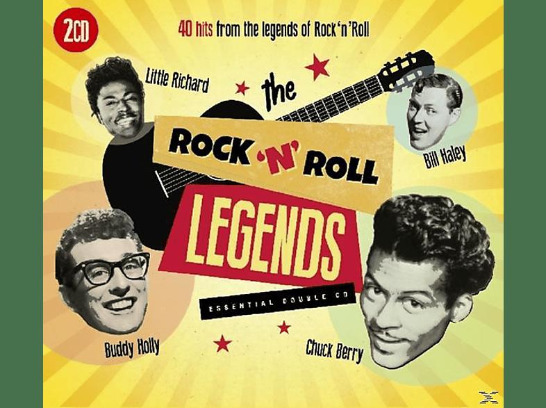 VARIOUS - Rock'N'Roll Legends [CD]