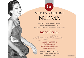 Maria Callas, Mario Filippeschi, Nicola Rossi-lemeni, Daniel Serafin, Ebe Stignani - Bellini: Norma (Ga)  - (CD)