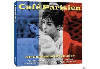 VARIOUS - Café Parisien  - (CD)