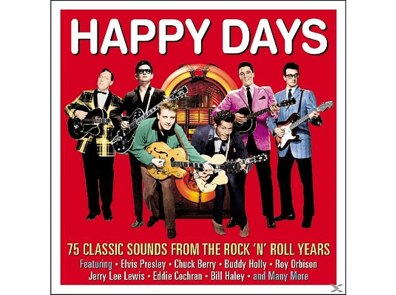 VARIOUS - Happy Days [CD]