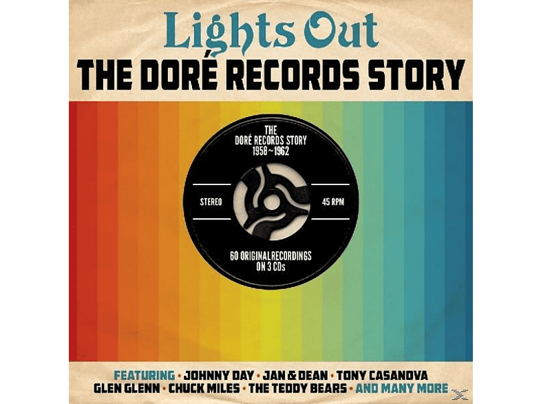 VARIOUS - Lights Out-Dore Records [CD]