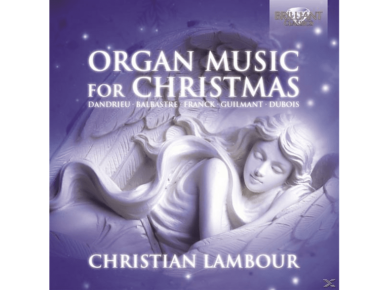 Christian Lambour - Organ Music For Christmas [CD]