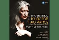 ARGERICH,MARTHA/MONTERO,G./GOERNER,N./ZILBERSTEIN - Musik Für Zwei Klaviere [CD]