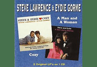 Lawrence,Steve/Gorme,Eydie - Cozy & A Man And A Woman  - (CD)