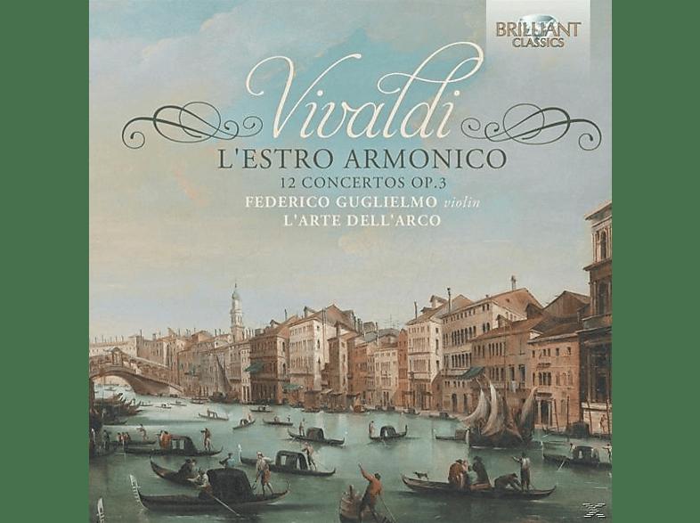 Federico L'arte Dell'arco & Guglielmo - L'estro Armonico-12 Concertos Op.3 [CD]
