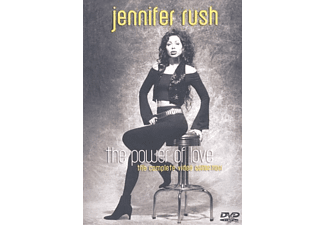 Jennifer Rush - The Power Of Love - The Complete Video Collection - (DVD)