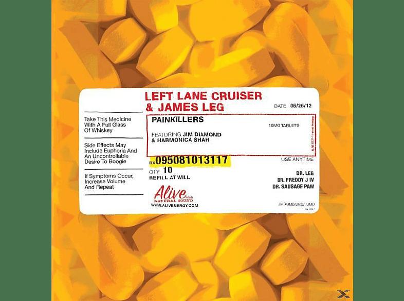 James Left Lane Cruiser And Leg - Pain Killers [Vinyl]
