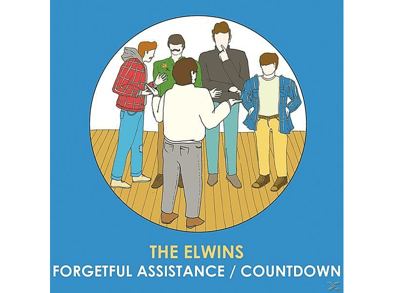 The Elwins - Forgetful Assistance/Countdown [Vinyl]