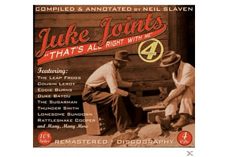 VARIOUS - Juke Joints Vol.4-That's All Right With Me - (CD)