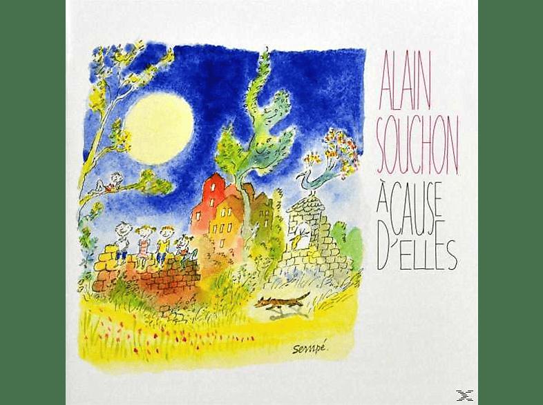 Alain Souchon - A Cause D Elles [CD EXTRA/Enhanced]