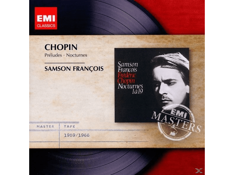 Francois Samson - Nocturnes & Preludes [CD]