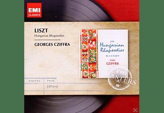 György Cziffra - Hungarian Rhapsodies 2, 6, 8-15 - Cziffra - CD
