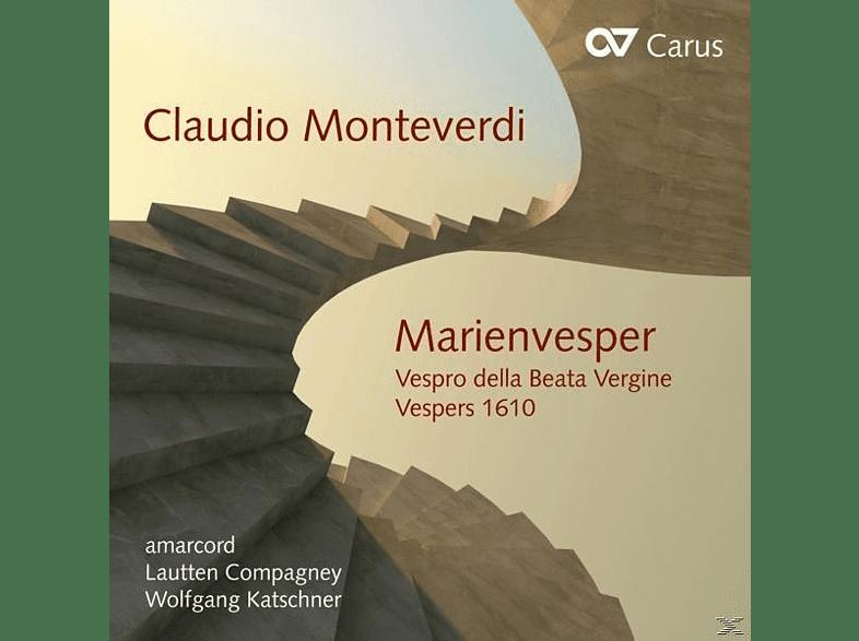 Amarcord/Katschner/Lautten Compagney - Marienvesper [CD]