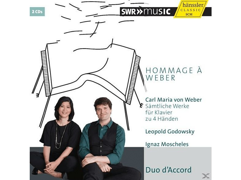 Duo D'accord - Hommage à Weber [CD]