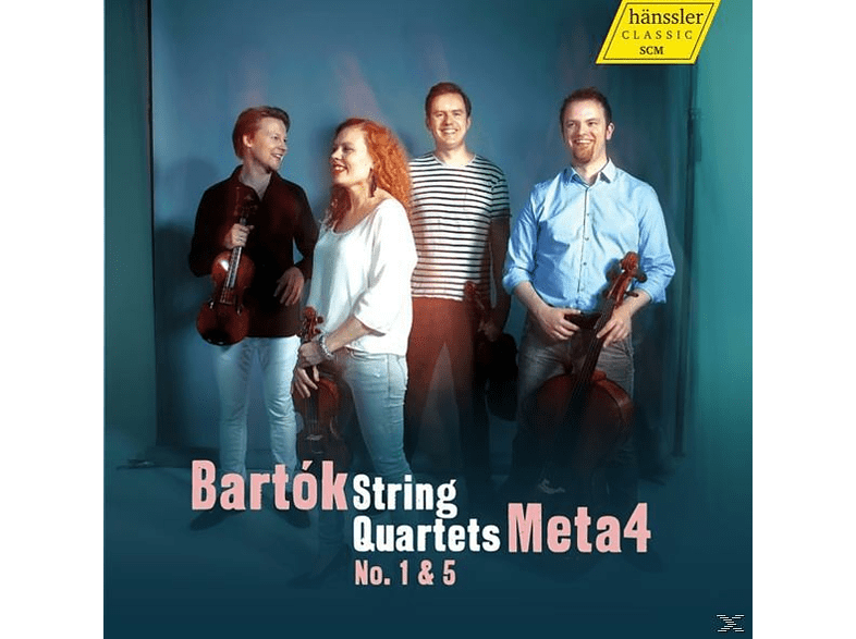 Meta4 - String Quartets 1 & 5 [CD]