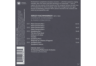 RUDY,MIKHAIL/JANSON,MARISS/SPP - Sämtliche Sinfonien & Klaviierkonzerte  - (CD)
