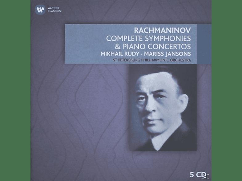 RUDY,MIKHAIL/JANSON,MARISS/SPP - Sämtliche Sinfonien & Klaviierkonzerte [CD]