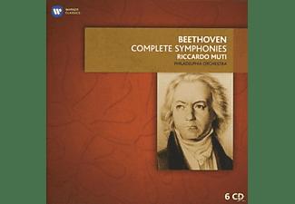 Riccardo/pdo Muti - Sämtliche Sinfonien & Ouvertüren  - (CD)