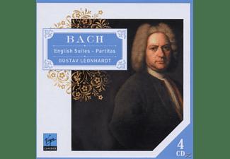 Gustav Leonhardt - English Suites&Partitas  - (CD)