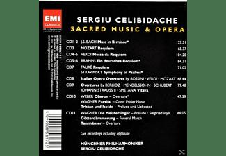 Sergiu Celibidache - Sacred Music & Opera  - (CD)
