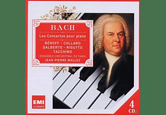 VARIOUS, Bruno Rigutto, Esemble Orchestral De Paris - Bach: Les Concertos Pour Piano  - (CD)