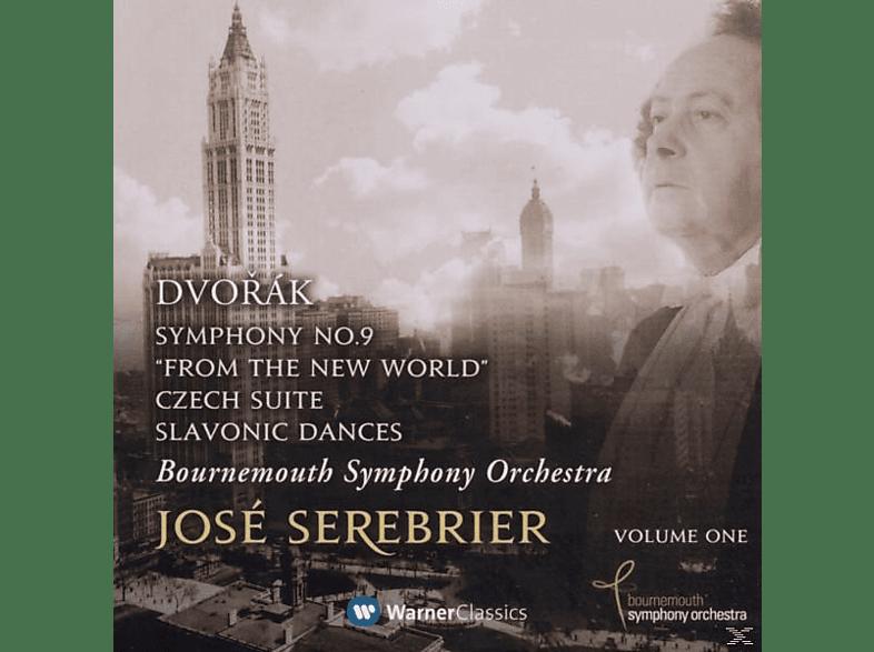 Jose & Boso Serebrier - Dvorak: Symphony No. 9, 'from The New World' [CD]
