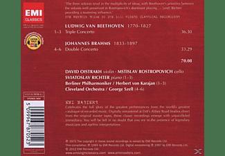 Oistrach, Karajan, Richter, Rostropowitsch, Karajan/Oistrach/Richter/Rostropowitsch - Tripelkonzert/Doppelkonzert  - (CD)