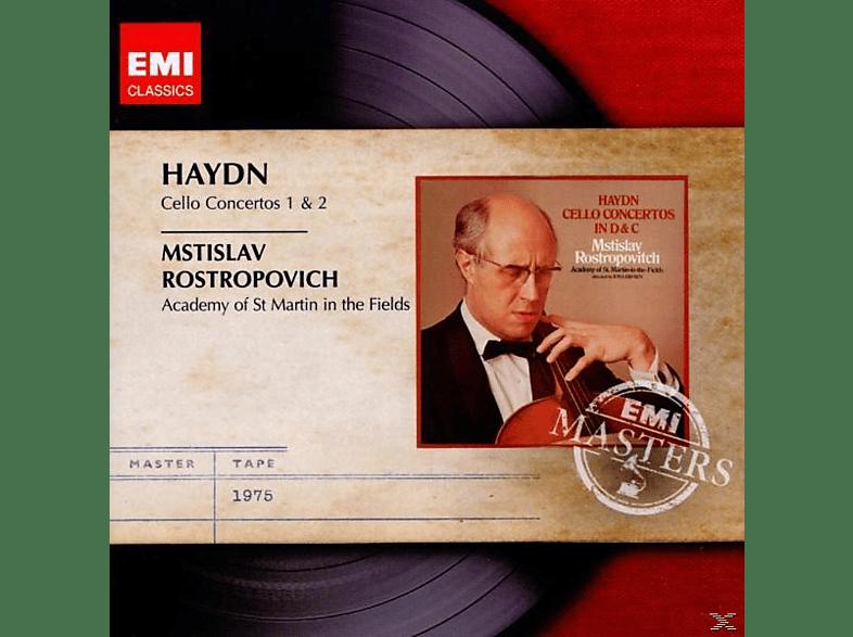 Mstislav Rostropovich, Brown, Mstislav/brown Rostropowitsch - Cellokonzerte 1 & 2 [CD]