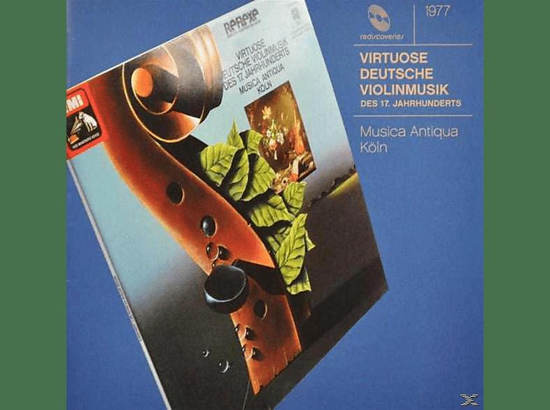 Reinhardt Goebel - Virtuose Violinmusik D.17.Jh [CD]