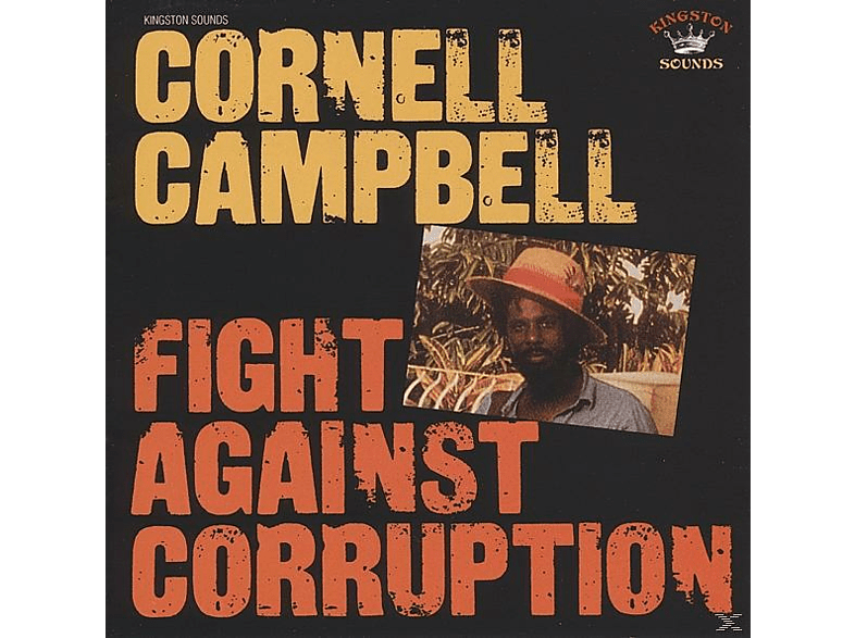 Cornell Campbell - Fight Against Corruption [CD]
