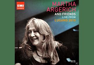 Martha & Friends Argerich, Martha & Various Argerich - Live From Lugano 2010  - (CD)